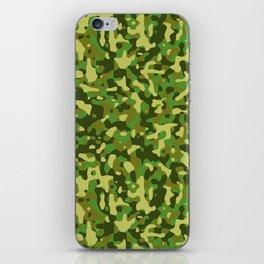 Flecktarn Jungle Camo iPhone Skin