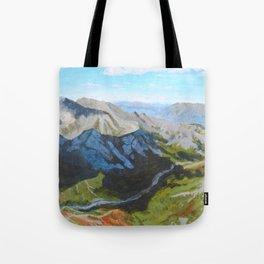 Cloud Cover Denali National Park Tote Bag