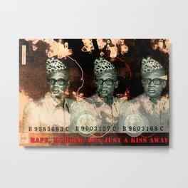 ATC - Mobutu Metal Print