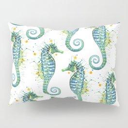 Seahorse: Green Pillow Sham