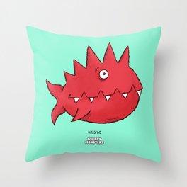 Bitaspike Throw Pillow