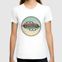 vw T-shirts featuring vw  ying and yang by Vin Zzep