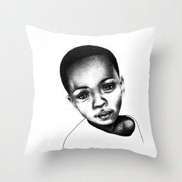 African Child Throw Pillow