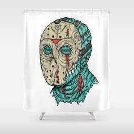 Undead Jason Shower Curtain