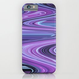 Traveling Down the Purple River iPhone Case