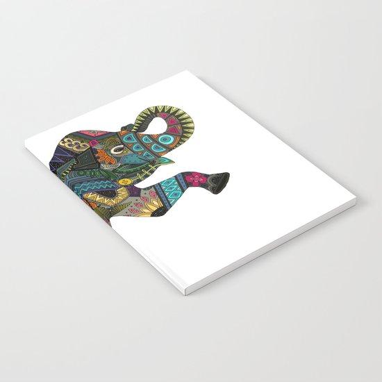 asian elephant white Notebook