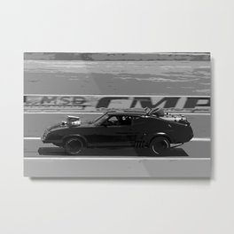Mad to the Max Metal Print
