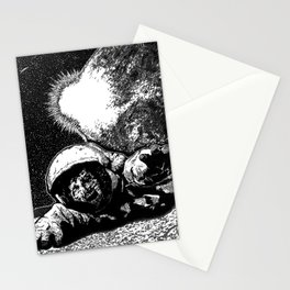 Astro Zombie Stationery Cards