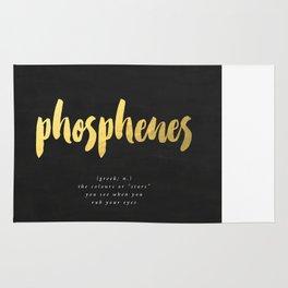 definition: phosphenes Rug