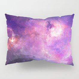 Purple space Pillow Sham