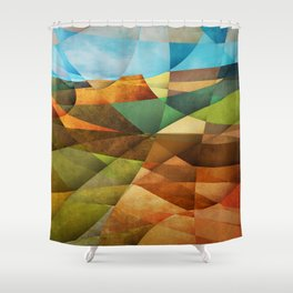Schnebly Hill, Sedona Shower Curtain