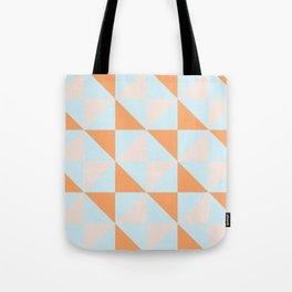 Geo Cross Tote Bag