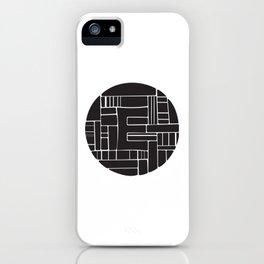 Circle E iPhone Case