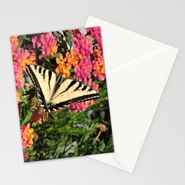 Swallowtail on Lantana Stationery Cards