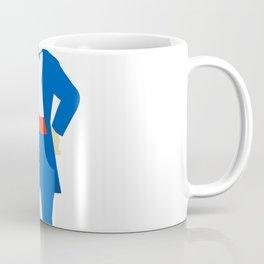 Ringmaster Shouting Bullhorn Retro Coffee Mug