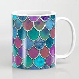 Colorful Mermaid Scales Coffee Mug