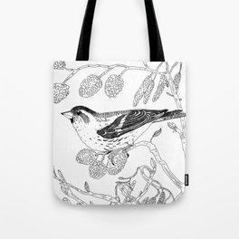 Eurasian Siskin Tote Bag