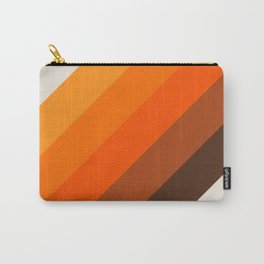 Simple Stripes - Golden Carry-All Pouch