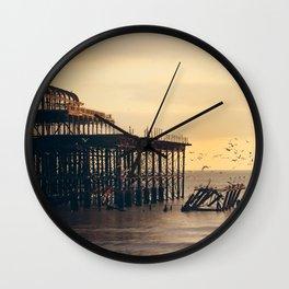 Pier Pressure (West Pier) Wall Clock