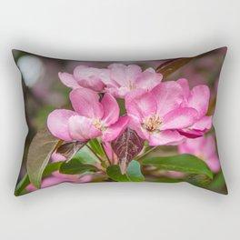 Flowering crab in May Rectangular Pillow