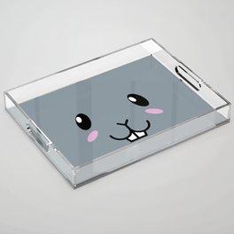 Baby Bunny. Kids & Puppies Acrylic Tray