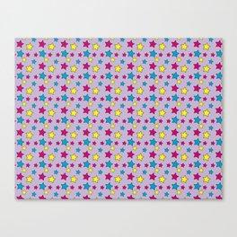 Vinnie Star 1 - Hyacinth Canvas Print