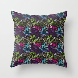 pattern_colors Throw Pillow