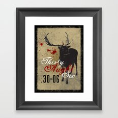 Thirty Aught Six Framed Art Print