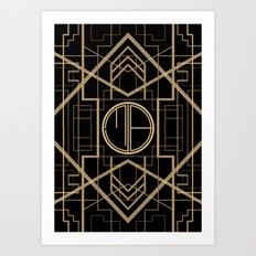 MB- GATSBY STYLE Art Print