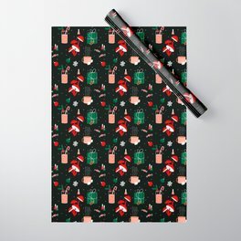 Christmas Party Wrapping Paper