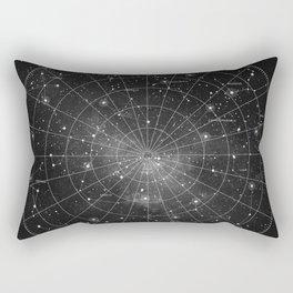 Constellation Star Map (B&W) Rectangular Pillow