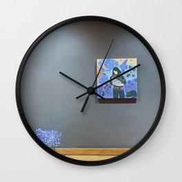 Art Piece by Kama Tulkibayeva Wall Clock