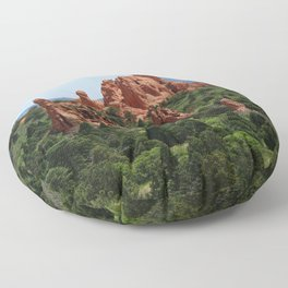Cathedral Valley Floor Pillow