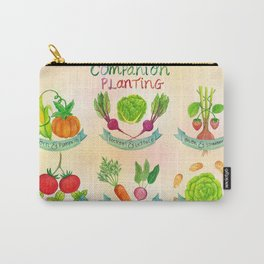 Companion Planting Poster Carry-All Pouch