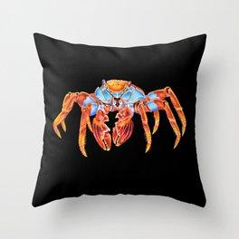 Sally Lightfoot Crab Throw Pillow