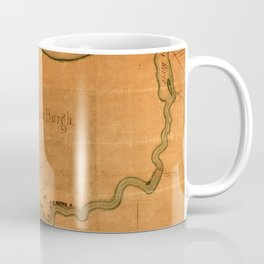 Lake Winnebago 1832 Coffee Mug