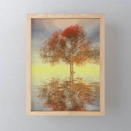 strange light somewhere -21- Framed Mini Art Print
