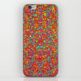 Verre Colore Pattern iPhone Skin