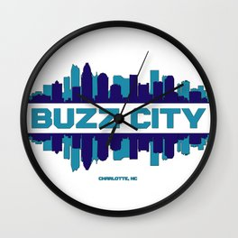 Buzz City Wall Clock
