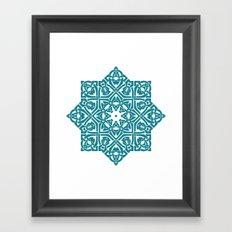 Celtic Knotwork Pattern Framed Art Print