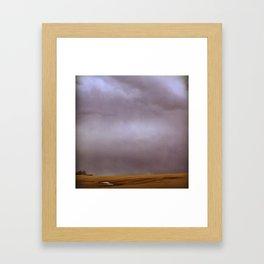 Reflective Breath Framed Art Print