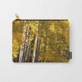 Golden Aspens Carry-All Pouch