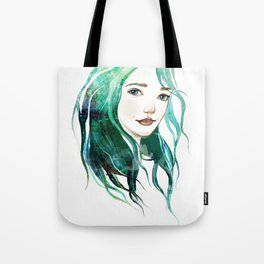 A mermaid Tote Bag
