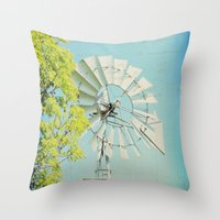 american beauty Throw Pillows featuring American Beauty Vol 20 by Farmhouse Chic