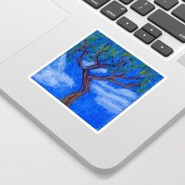 REALLY Blue Bonsai Sticker