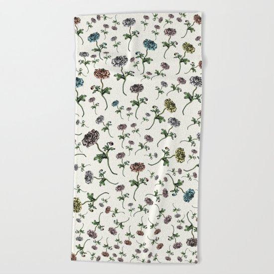 Paris Summer | The Flower Girl Beach Towel