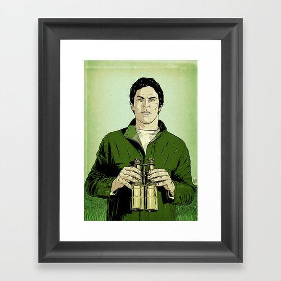 Envy is green Framed Art Print