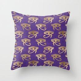 Egyptian Neck Gator Egypt Eye of Horus Throw Pillow