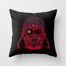 Monster Vader Throw Pillow