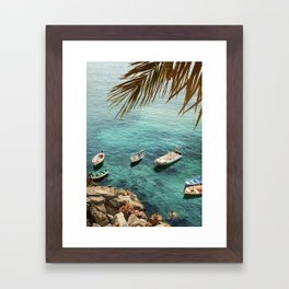 Ischia Framed Art Print